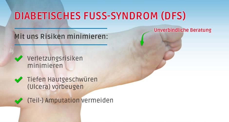 Diabetisches Fuß-Syndrom