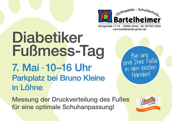 Bartelheimer Orthopädie Schuhtechnik - Fußmesstag